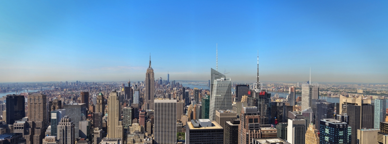 Panorama Of Manhattan New York City Free Photos