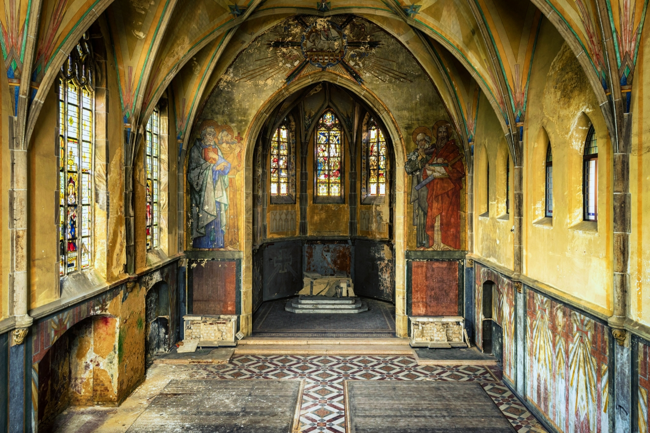 Abandoned church and chapel