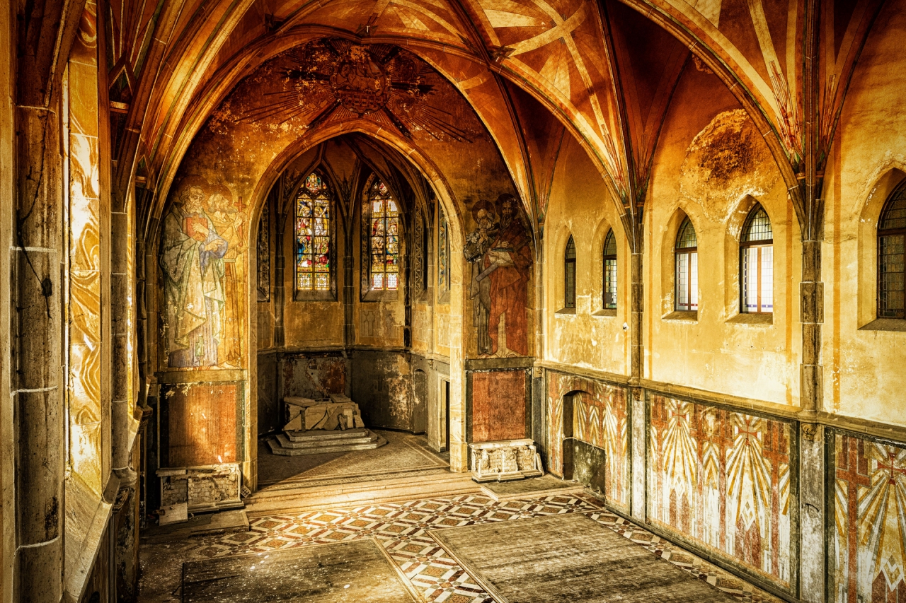 Old abandoned church