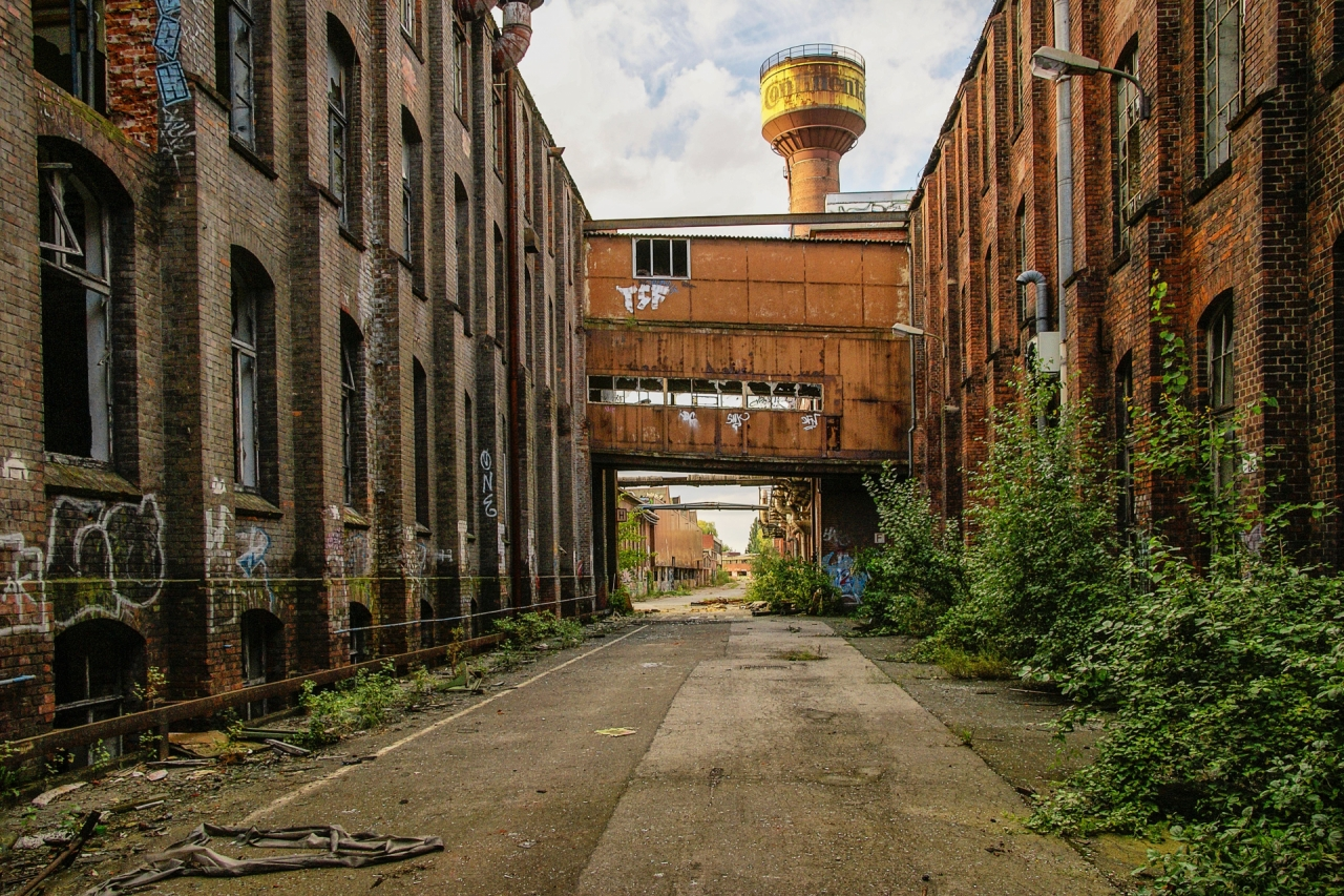 Abandoned factory in Hanover