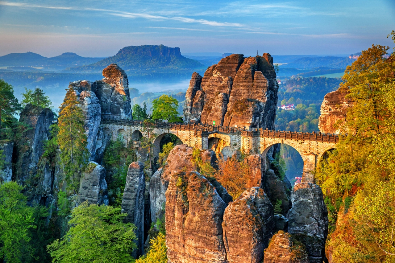 german mountains and rock formations best places to visit in europe