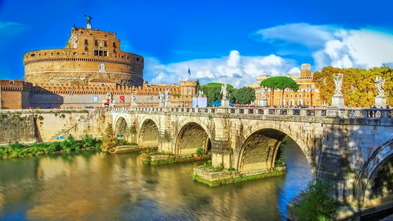 Castle Castel Sant'Angelo in Rome