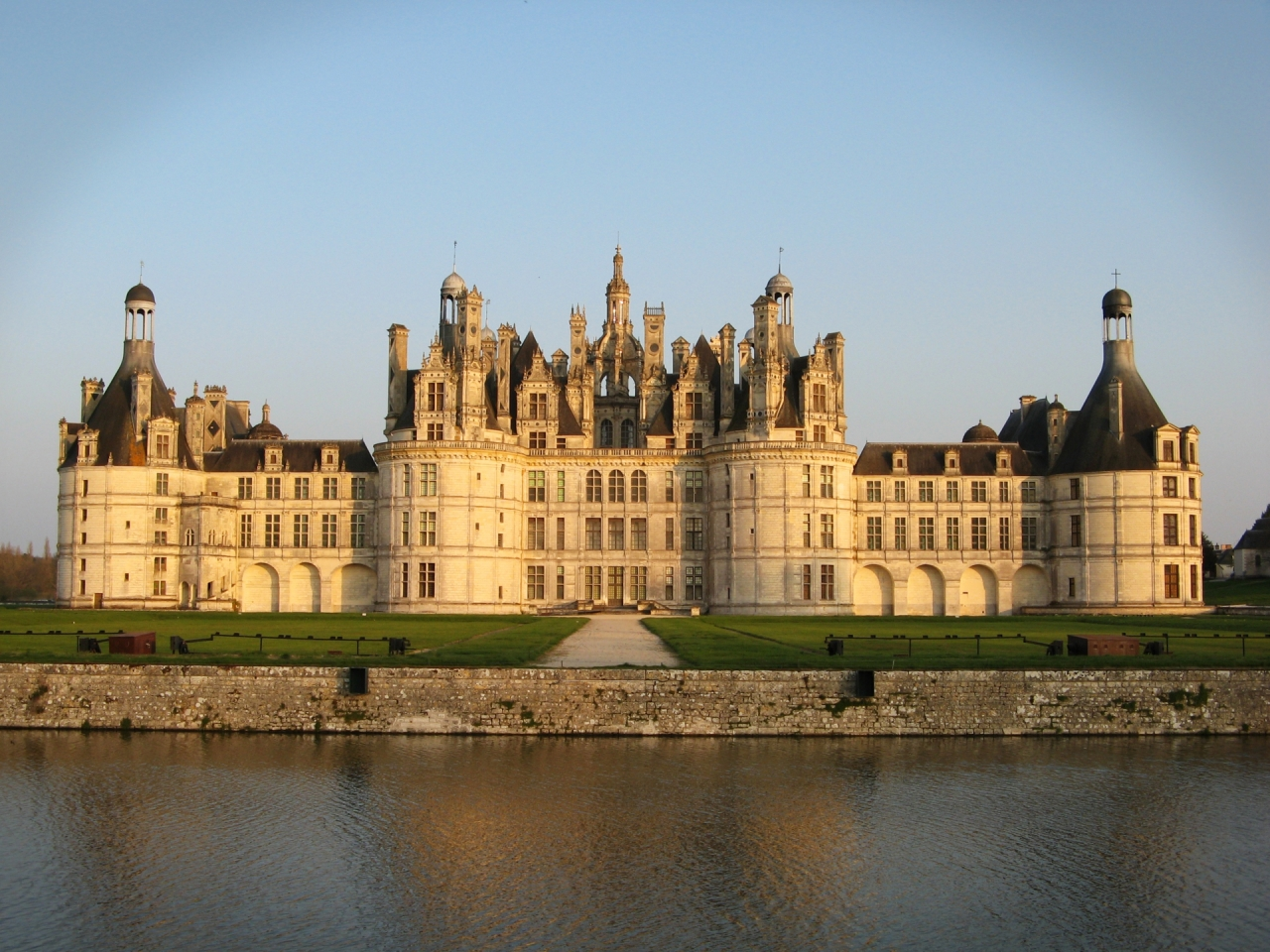 Royal Castle Chambord, palace in France