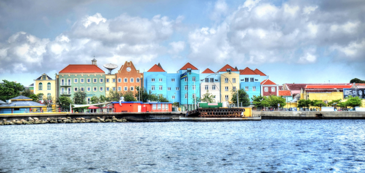 Willemstad in Curacao, Caribbean