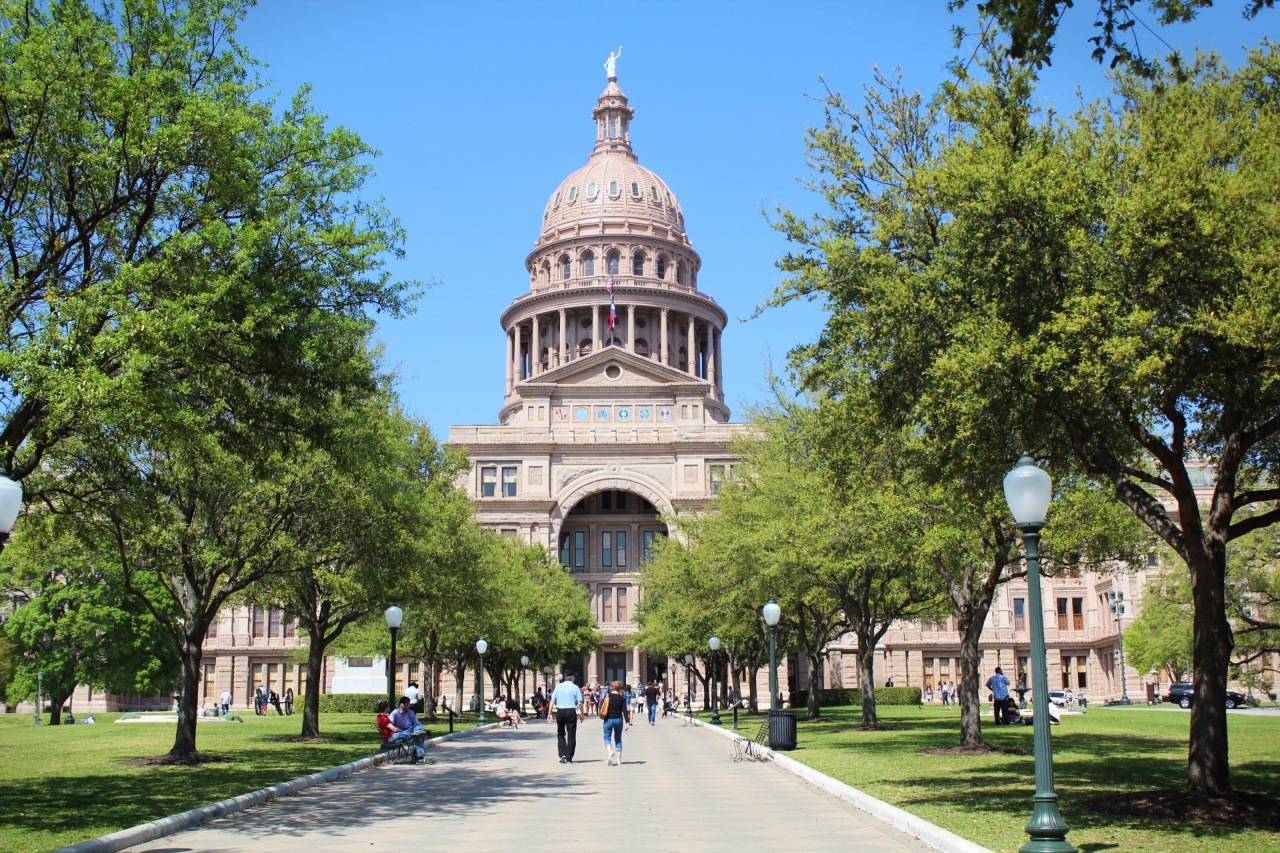 Texas State Capitol in Austin, USA