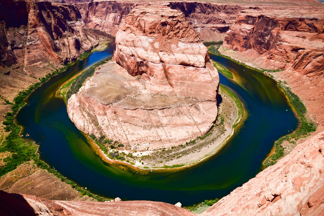 Horseshoe Bend in Arizona National Park, USA