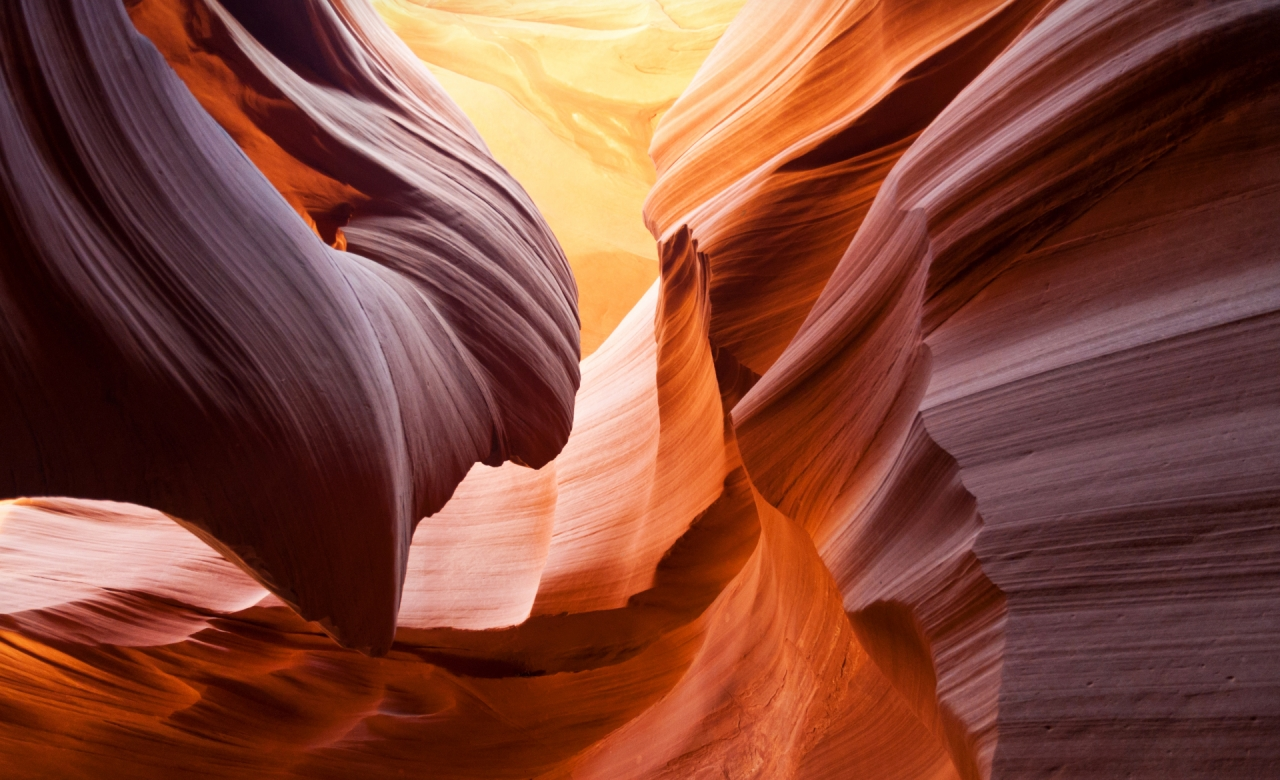 Sandstone Antelope Canyon in Arizona, United States USA