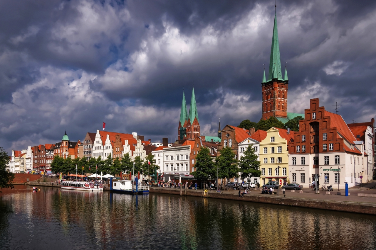 Lübeck city in Germany