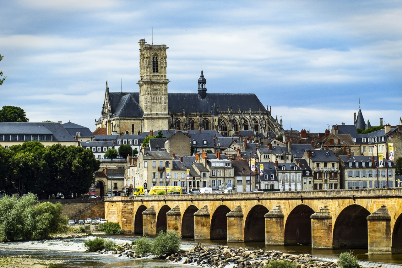 Cathedral in Loire, France