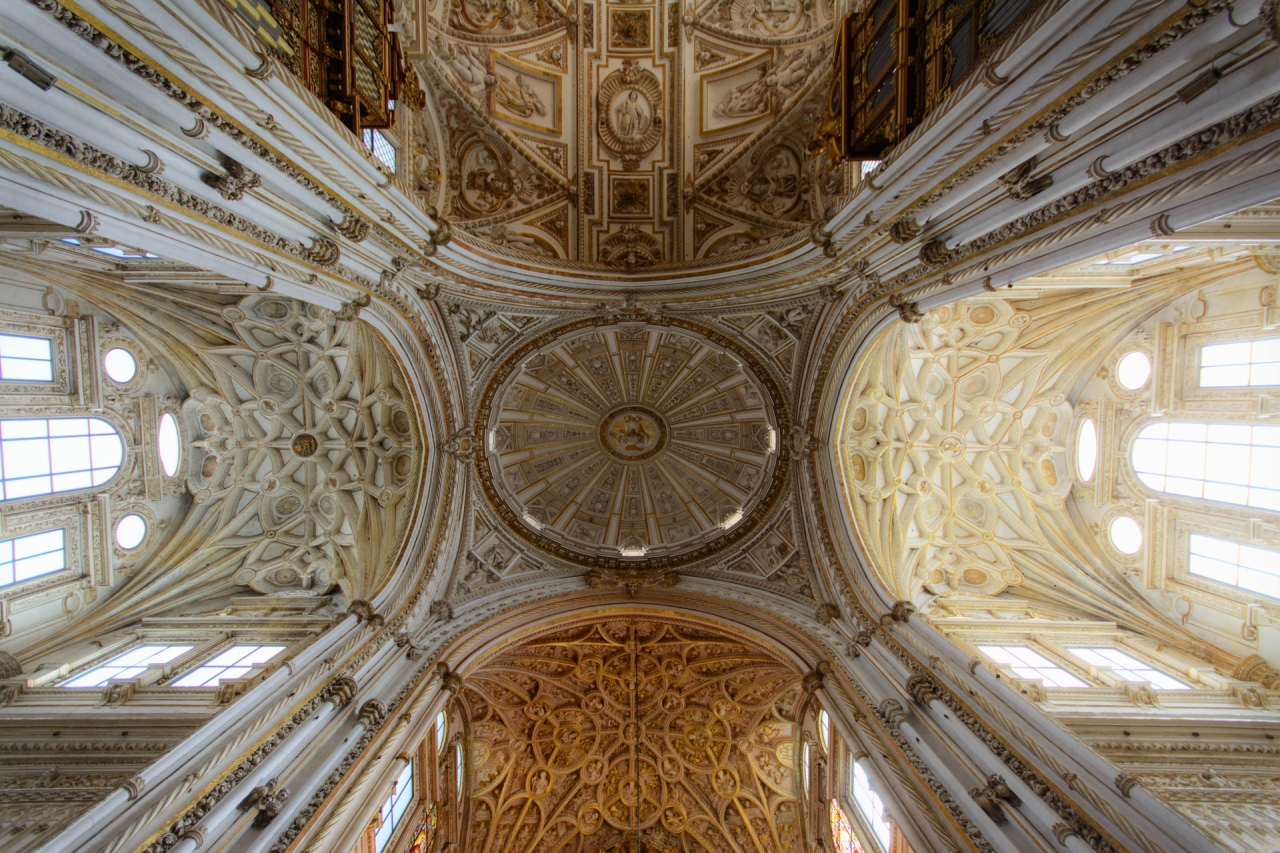 Mosque of Cordoba in Spain (ceiling)
