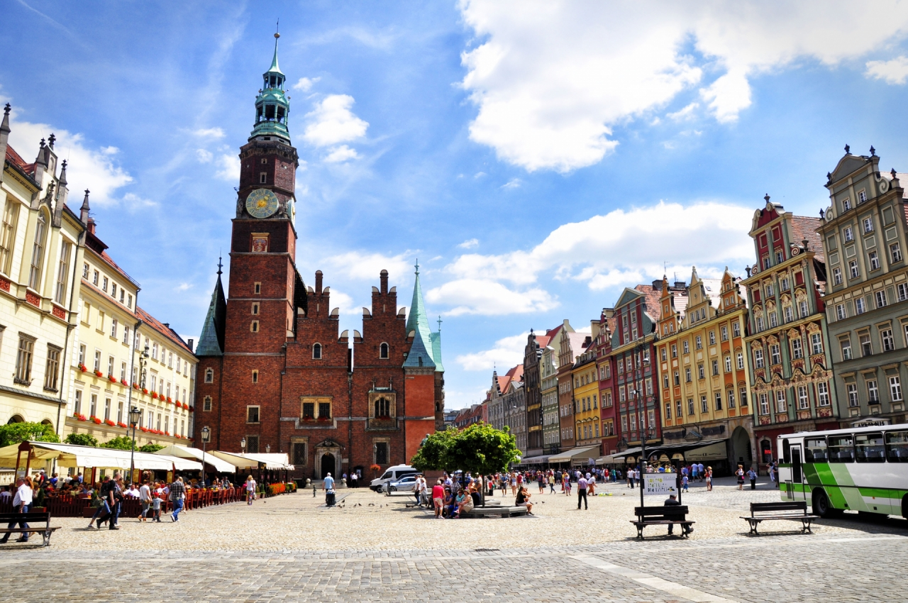Main Square in Wroclaw