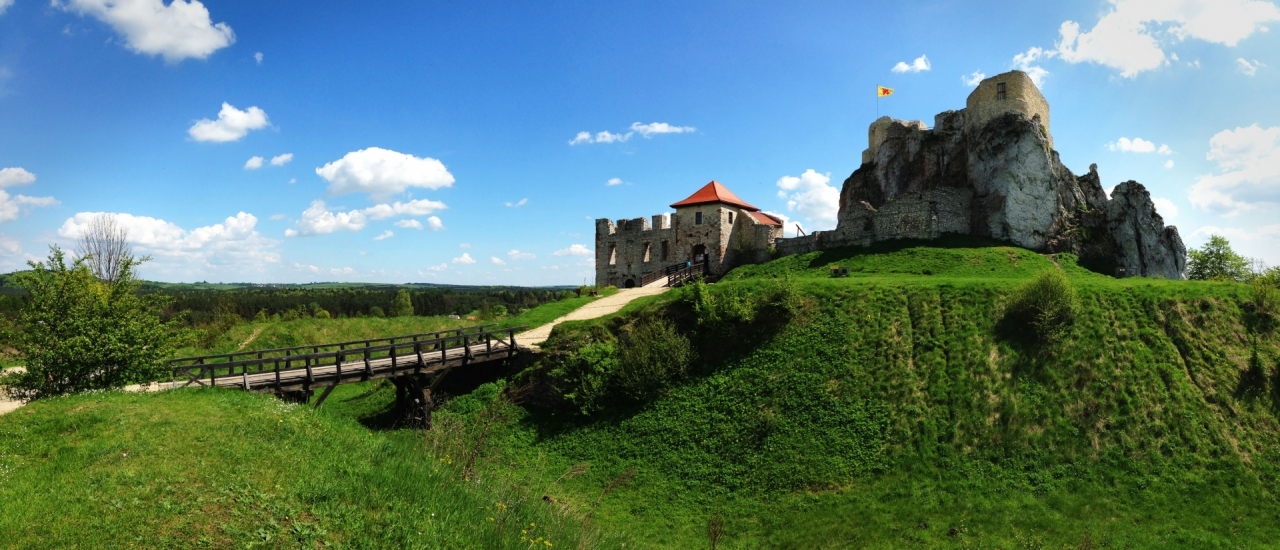 Ruins of Castle in Poland
